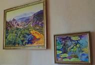 Картины маслом в рамах