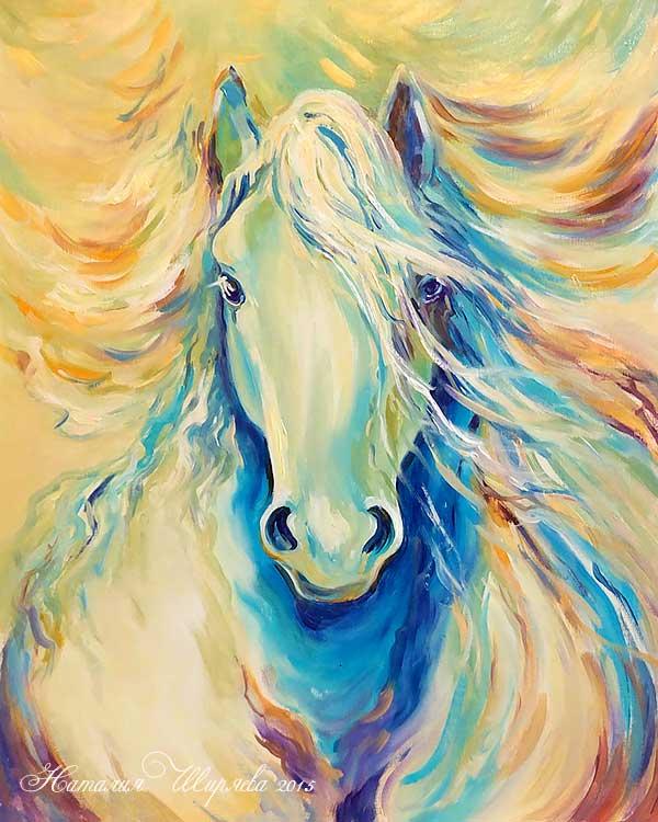 """Картина """"Лошадь Весна"""""""