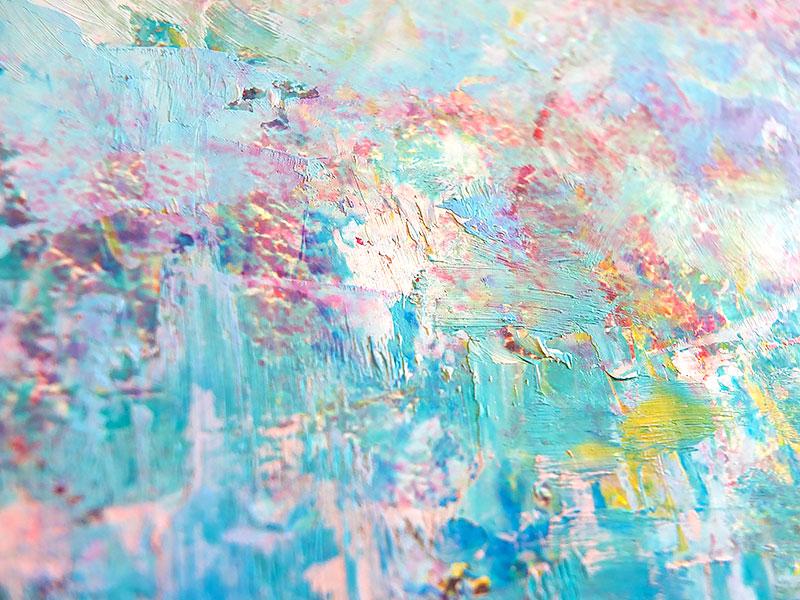Фрагмент картины - мазки краски