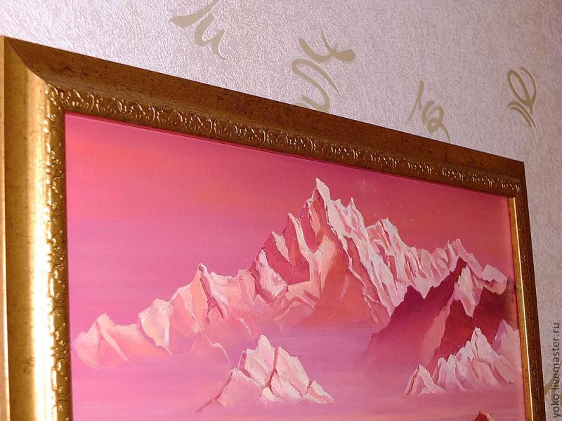 Невесомое величие - картина маслом на холсте 2