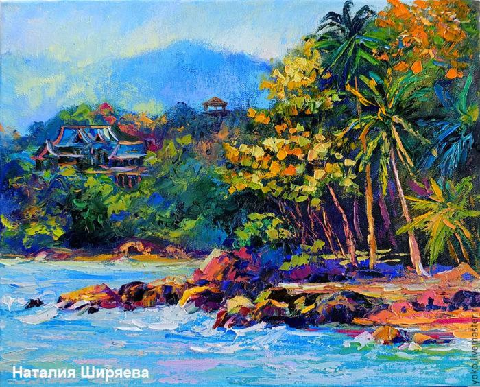 "Картина ""Пхукет. Пляж Hua Beach"""