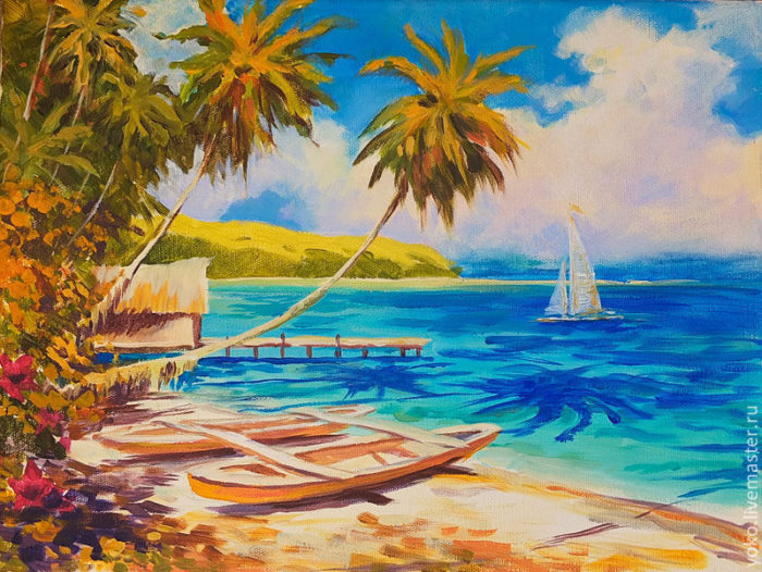 "Картина ""Тропический рай"""