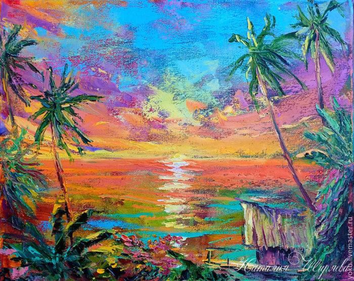 "Картина ""Sunset Paradise"""