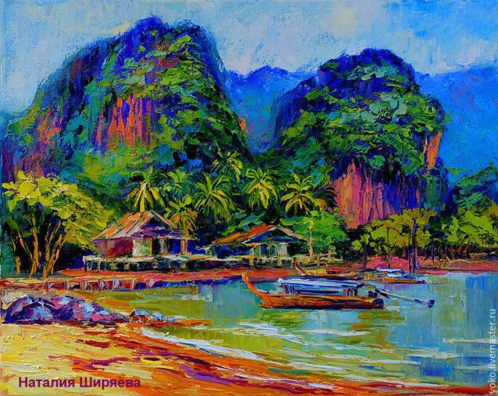 """Картина """"Краби. Пляж Рейлей"""""""