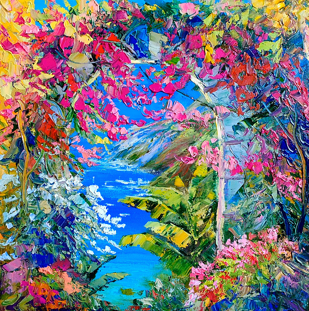 "Картина маслом - ""Тропики. Жажда Жизни"" автор Наталия Ширяева"