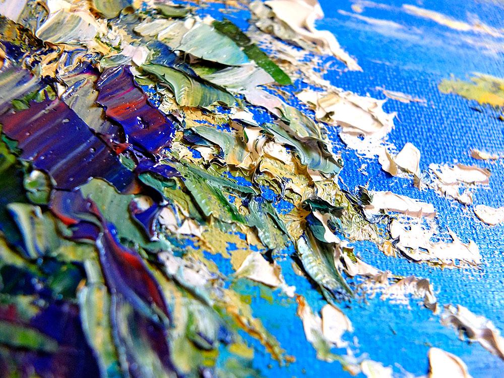 "Картина с арками  - ""Тропики. Жажда Жизни"" автор Наталия Ширяева"