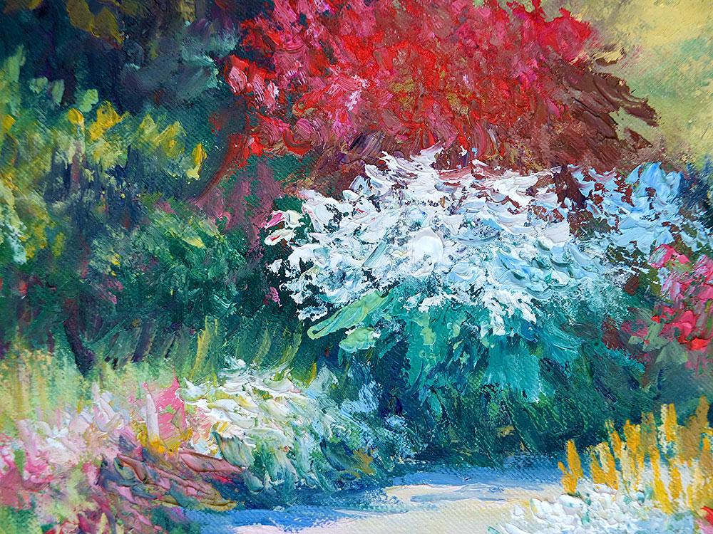 Сочная картина маслом от художника Наталии Ширяевой