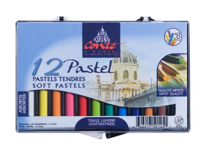 Conte Pastels
