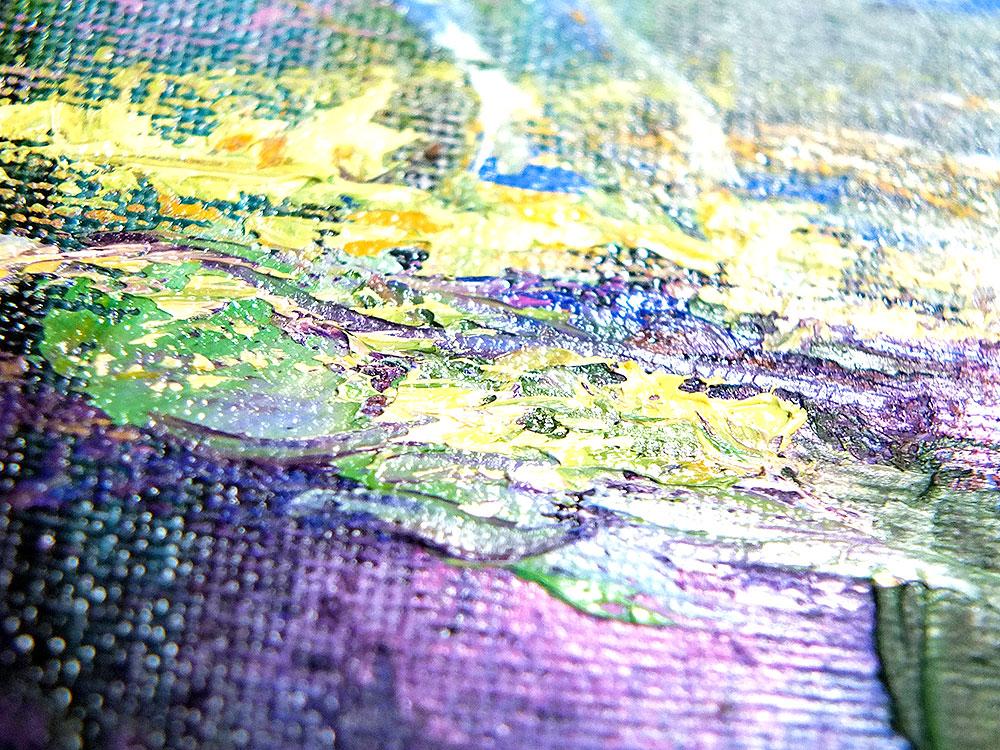 """Яркая картина маслом от Наталии Ширяевой """"Легенда о Единороге"""""""