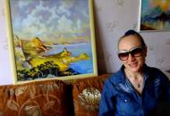 Картина маслом  Берега Крыма