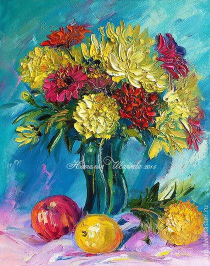 мастер класс букет цветов
