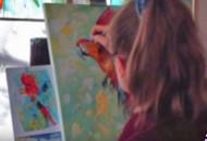 рисуем попугая поэтапно