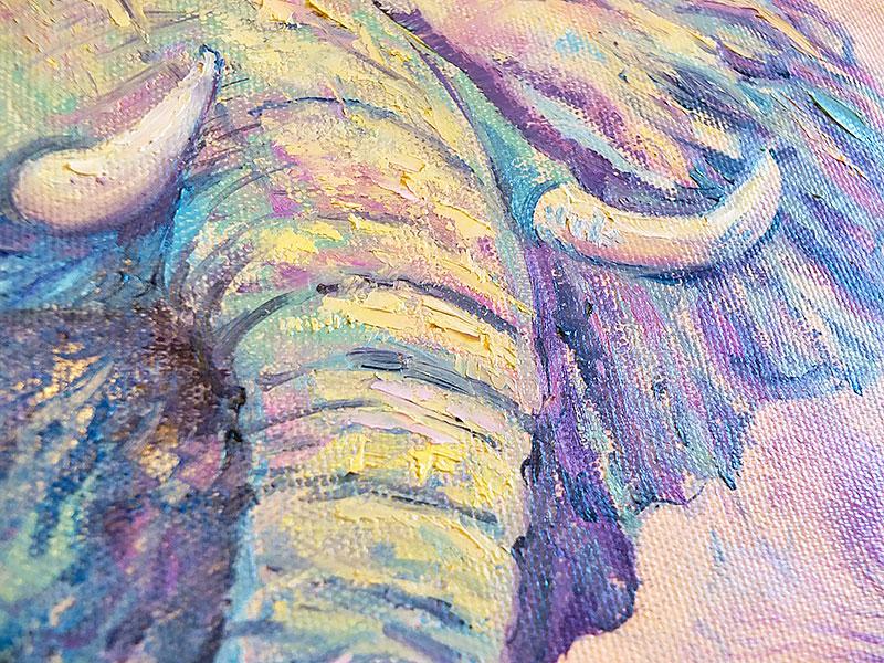 Хобот слона и бивни