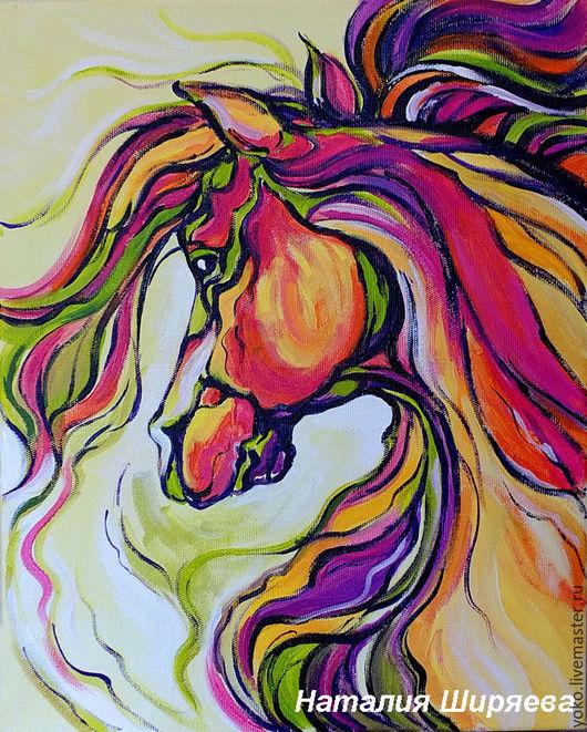 Картина с лошадью - Волнующий Ветер Перемен