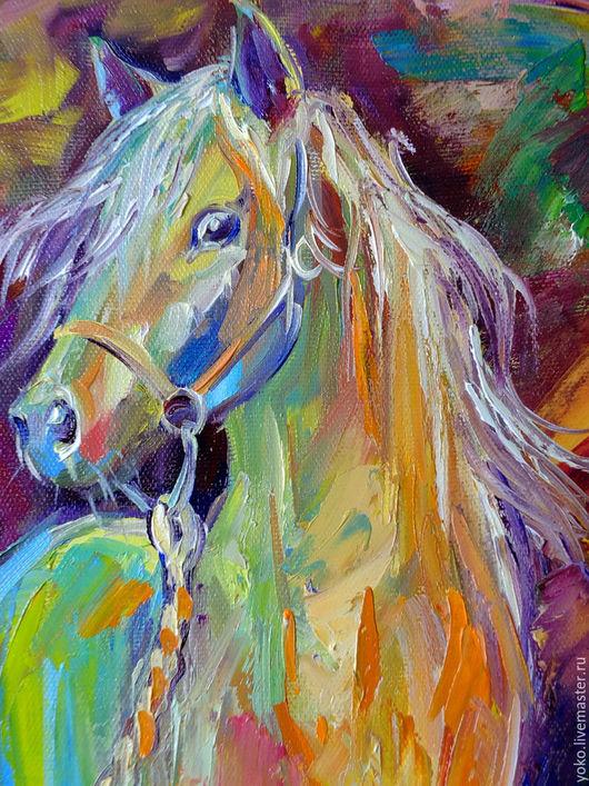 Голова лошади - картина