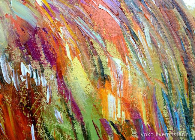 фрагмент картины с совой - перья птицы