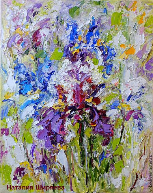 Наталия Ширяева - картина Ирисы в Облаке Мечты