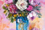 """Картина розы """"Доброе Утро, Моя Радость"""" художник Наталия Ширяева"""